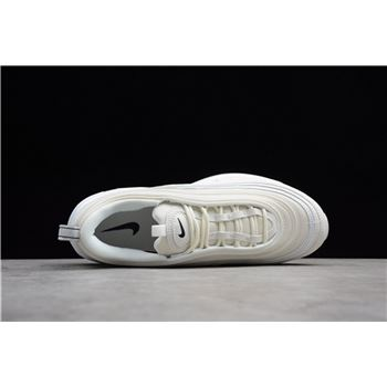 Nike Air Max 97 Reflective Logo Sail Black White Ar4259 100 Nike