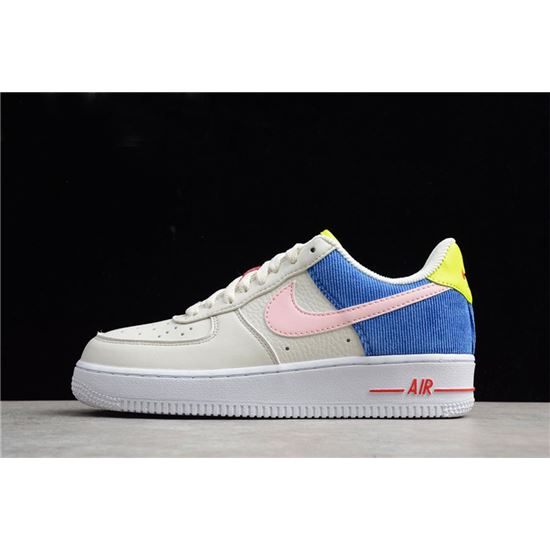 Nike Air Force 1 Corduroy Men's and Women's Size AQ4139-101 ...